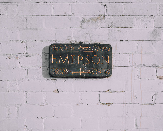 house sign - emerson