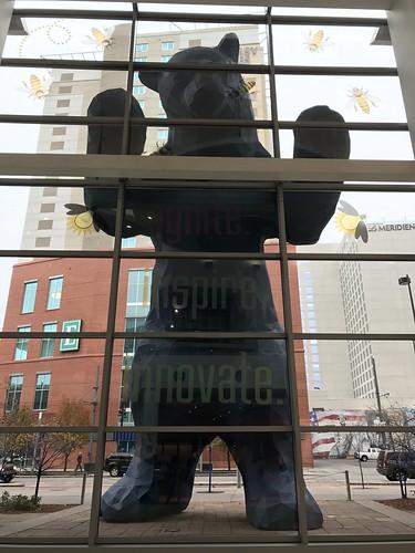 Blue Bear icon at the Colorado Convention Center