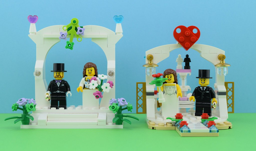 ... LEGO Wedding Favor Sets  2016 vs. 2018? | by Alex THELEGOFAN & LEGO Wedding Favor Sets : 2016 vs. 2018? | Hello itu0027s Alex u2026 | Flickr