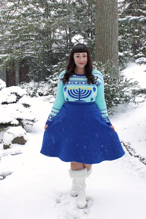 light-up sweater