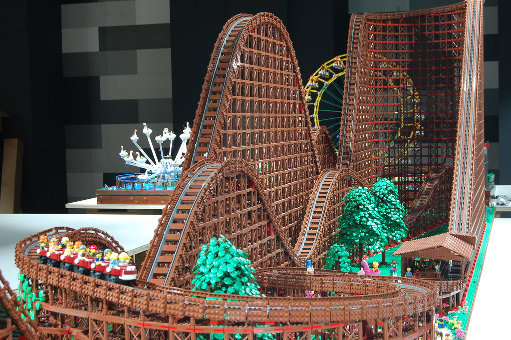 Lego Roller Coaster Get On A Lego Roller Coaster Ride