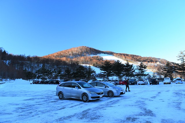 あさま2000スキー場駐車場