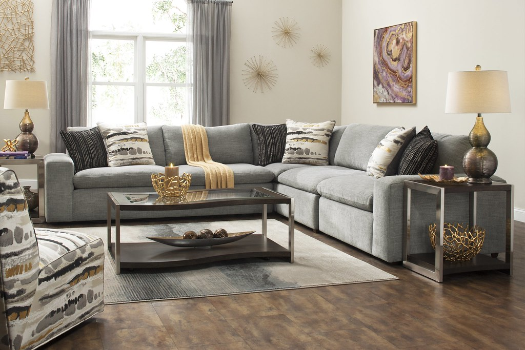 Calleta Chenille Sectional Sofa | By Raymourandflanigan Calleta Chenille  Sectional Sofa | By Raymourandflanigan