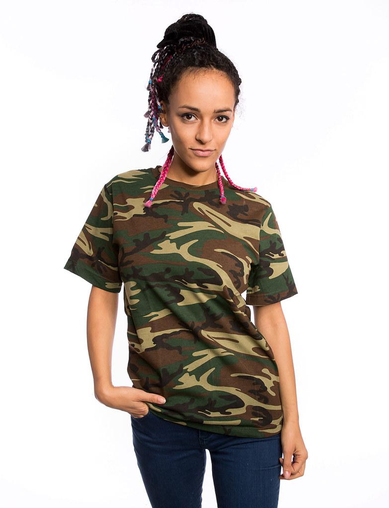Unisex Camouflage T Shirt Spreadshirt Flickr