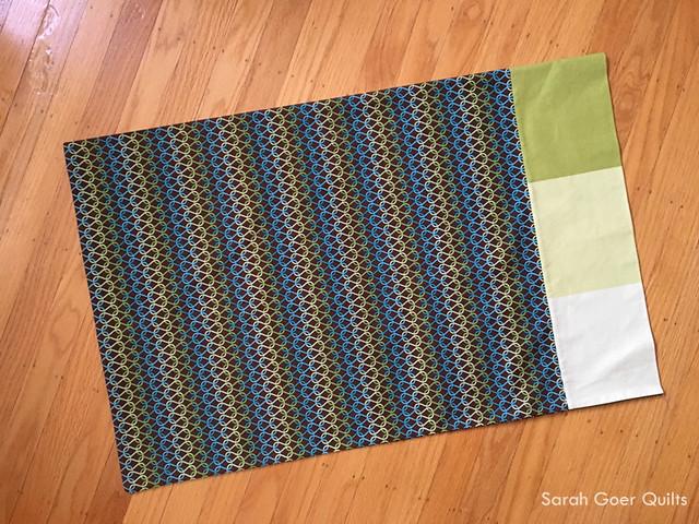 Burrito Style Pillowcase Interesting My First Burrito Style Pillowcase Sarah Goer Quilts