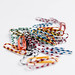 Group of colorful paperclips