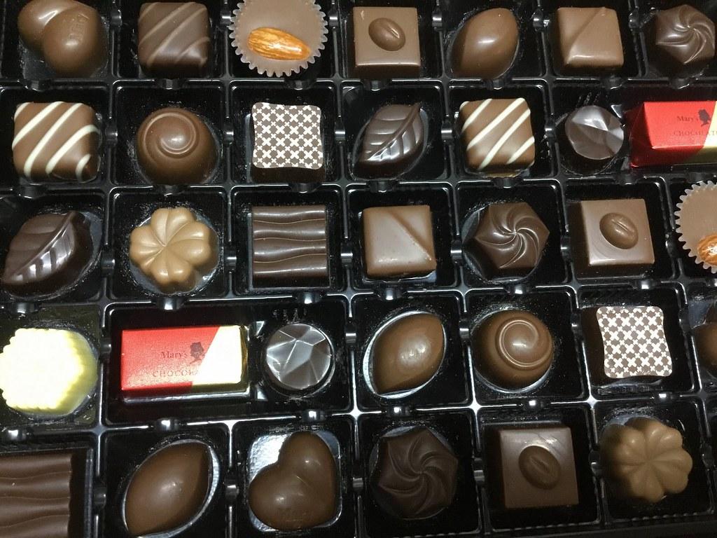 チョコレートです。
