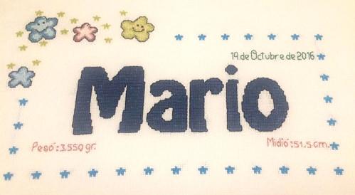 Cuadrito de Mario
