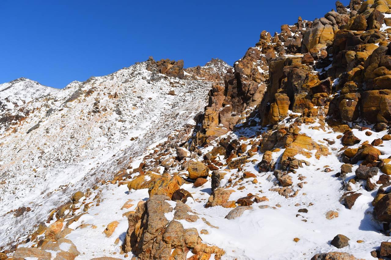 冬の那須岳・朝日岳 日帰り雪山登山