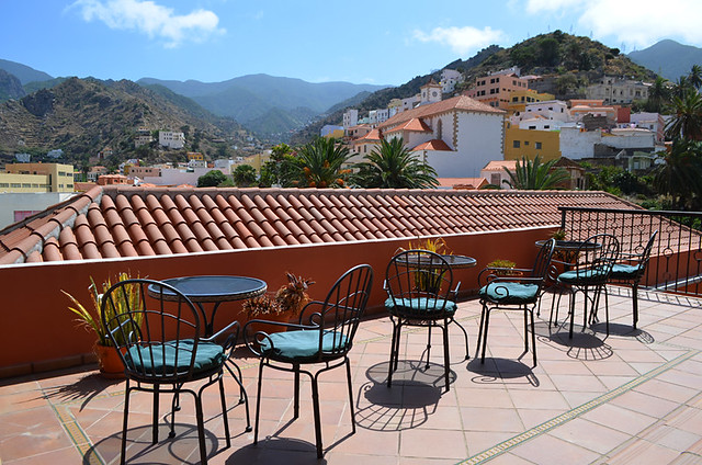 Rural accommodation, Vallehermoso, La Gomera, Canary Islands