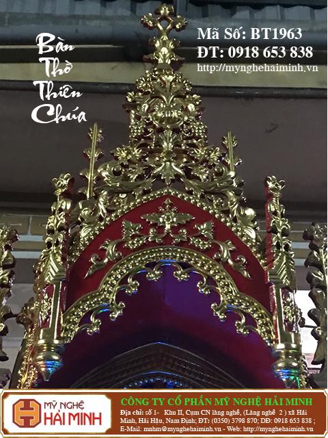 BT1964e Ban Tho Thien Chua do go mynghehaiminh