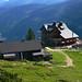 Huttes above Gosausee, Austria