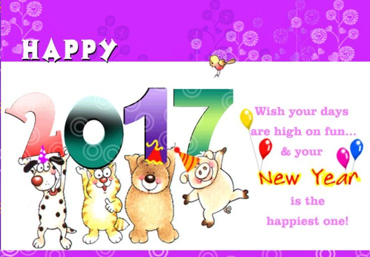happy new year 2018 quotes new year greeting cards 2017 funny kids happynewyear