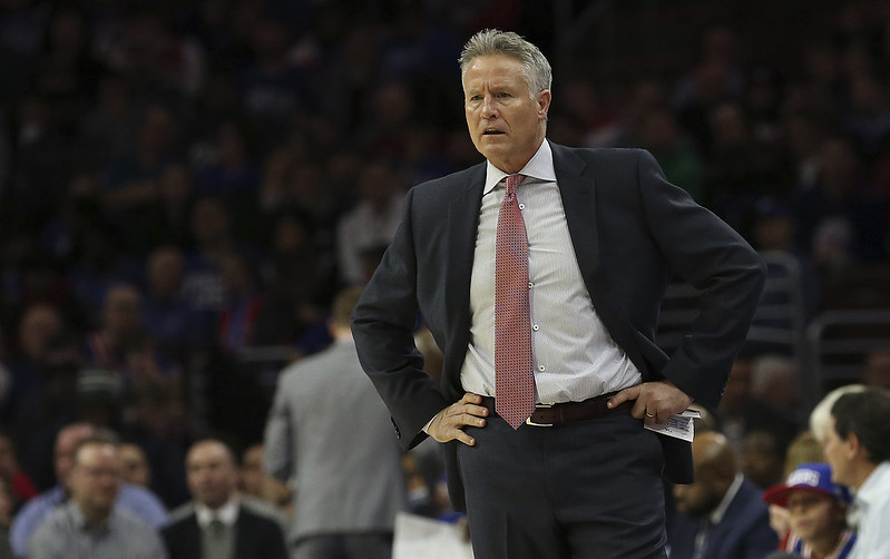 Brett Brown。(達志影像資料照)