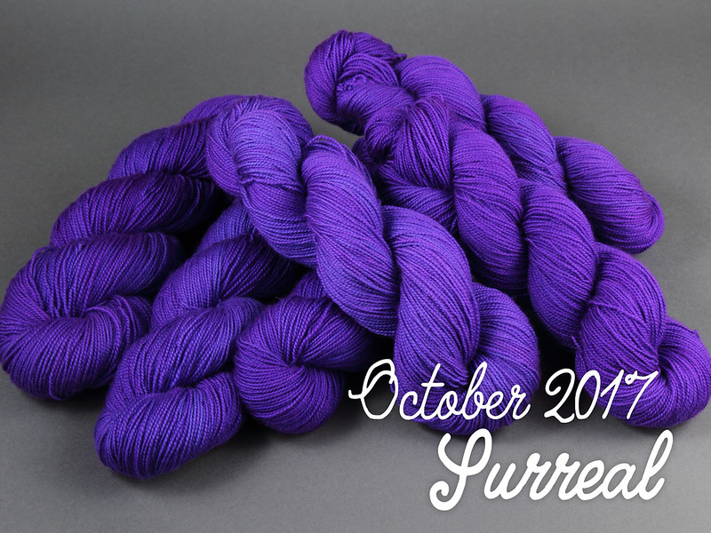 Yarn CLub October 2017: 'Surreal'