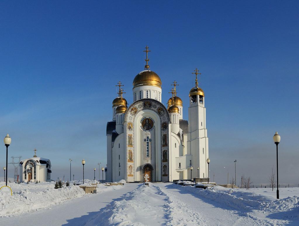 фотограф Челябинск - архитектурное фото - Храм Вознесения Господня в Магнитогорске