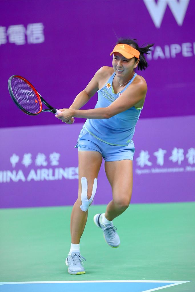彭帥。(WTA台灣公開賽大會提供)