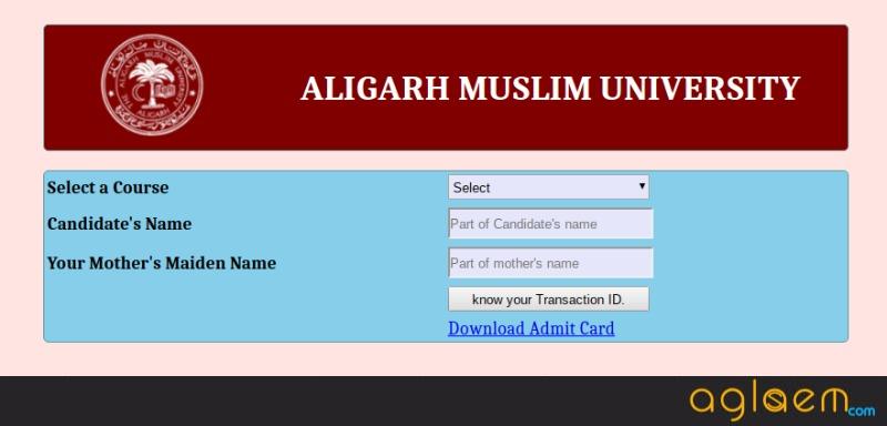AMU Transaction ID