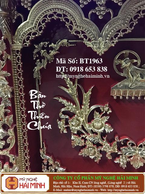 BT1964c Ban Tho Thien Chua do go mynghehaiminh