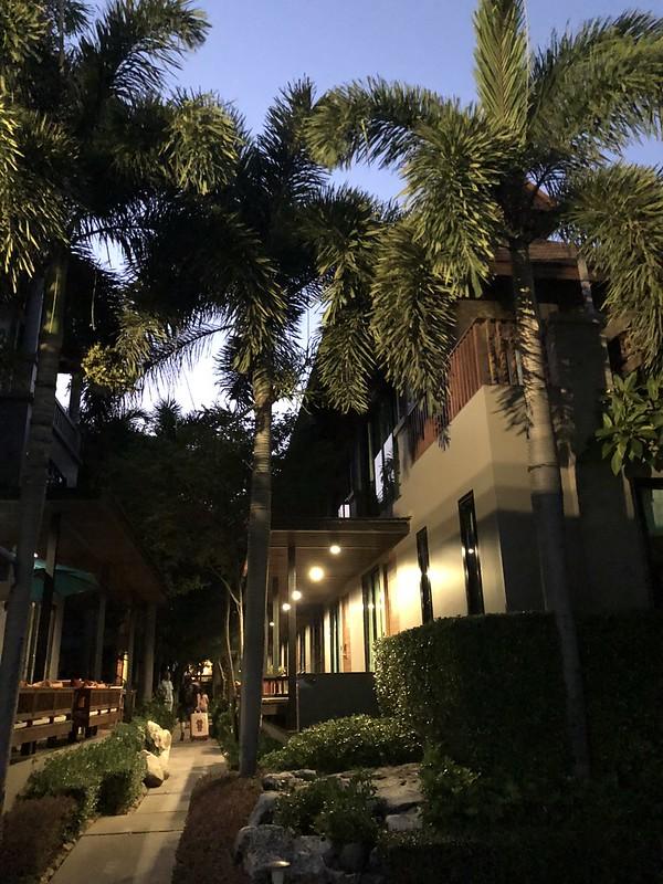 傍晚顺利到达斑斓苏安酒店