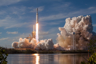 Falcon Heavy Demo Mission | by Official SpaceX Photos