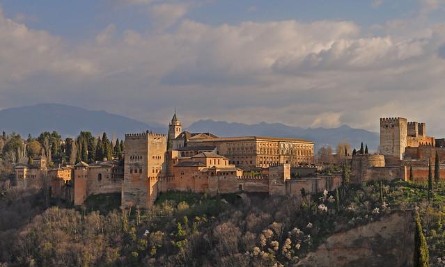 Alhambra de Granada desde el Mirador de San Nicolás