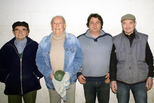17/02/2018 - Plougasnou : Concours de boules plombées en doublette mêlée