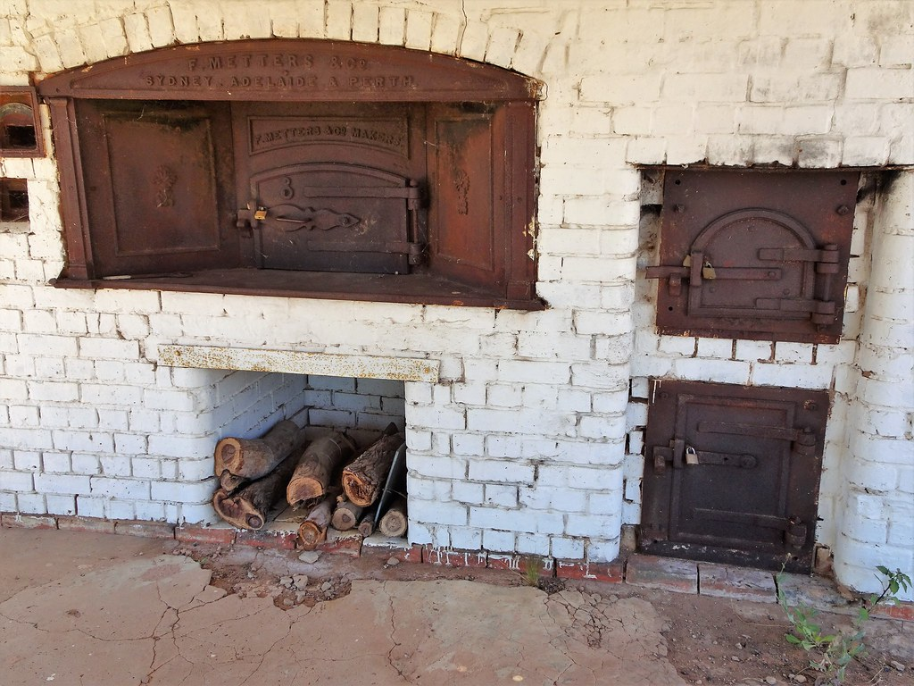 The Old Ovens In Bakery Which Operated From 1912 To 1952 These