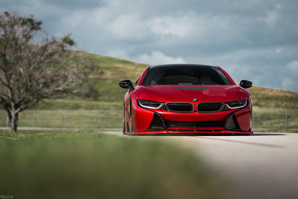 Bagged Red Bmw I8 2018 Kyle Fletcher Flickr