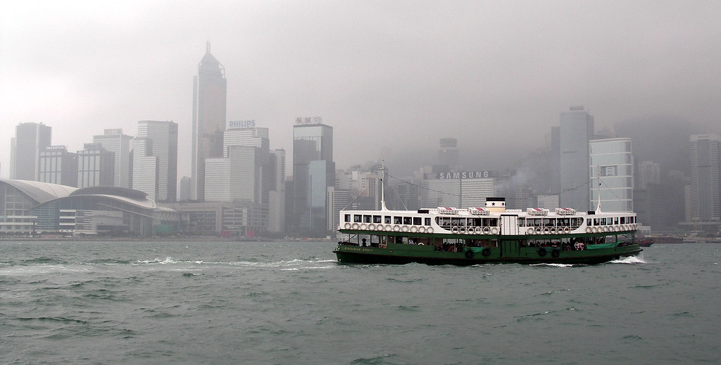 香港空氣污染。圖片來源:Magalie L'Abbé(CC BY-NC 2.0)