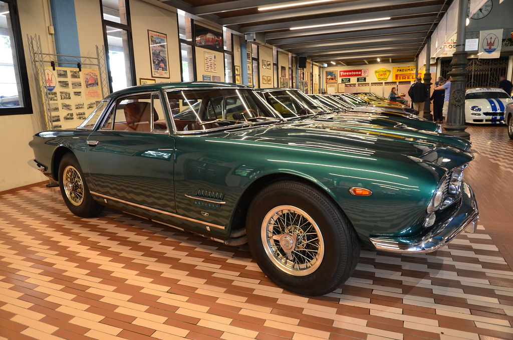 maserati 5000 gt 1964 | carrozzeria touring, motor: 8 cylind… | flickr