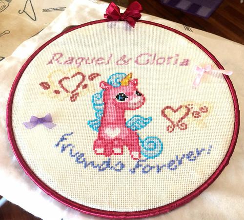 Bastidor de Raquel y Gloria