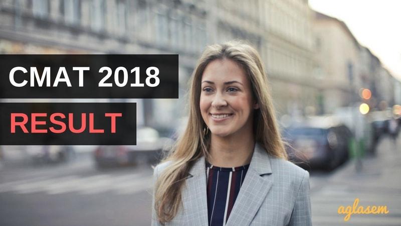 CMAT Result 2018