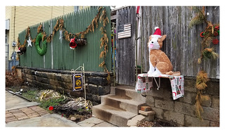 Pittsburgh Christmas Fence | by real00