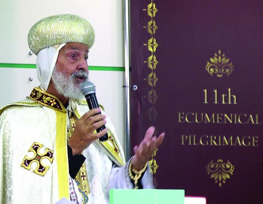 Coptic Liturgy - Msgr Athanasios