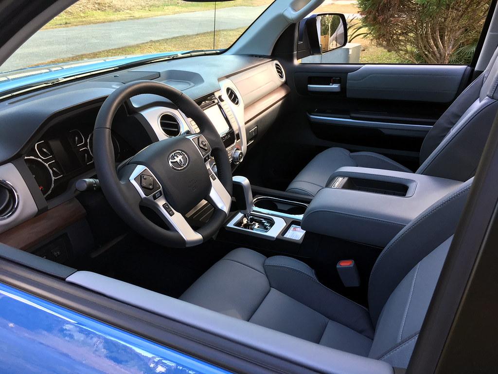 ... 2018 Toyota Tundra Interior | By Bryan_Collins