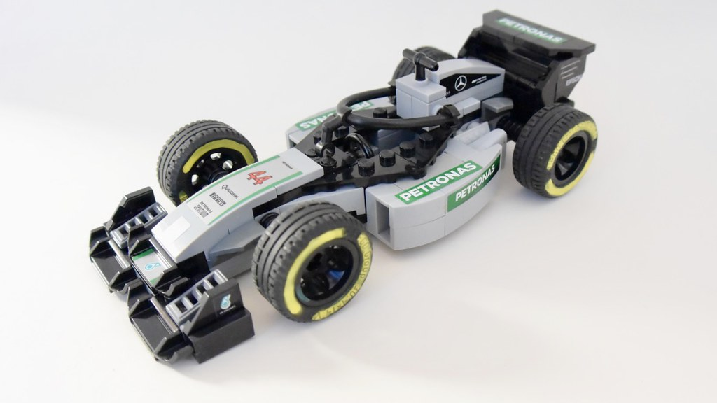 lego speed champions mercedes gp f1. Black Bedroom Furniture Sets. Home Design Ideas