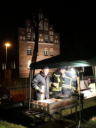 Feuerwehr am Grill