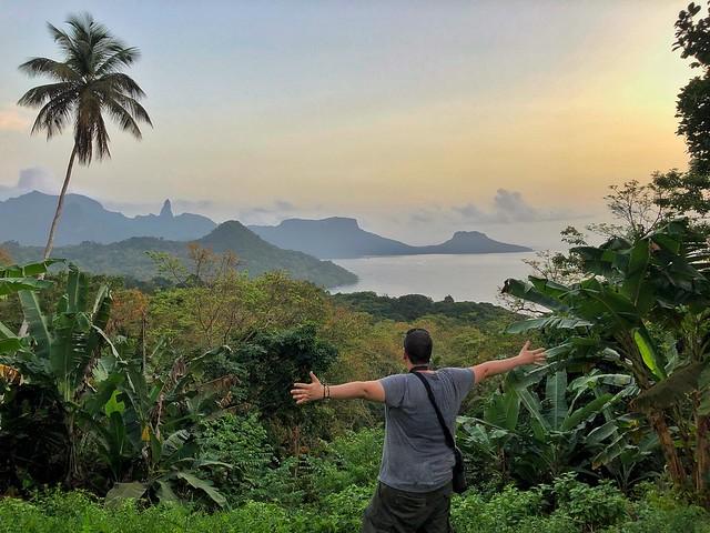 Sele en la isla de Príncipe (Viaje a Santo Tomé y Príncipe)