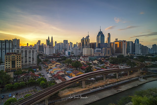 Kuala Lumpur City Skyline at Sunrise, February 2018 | by Nur Ismail Photography