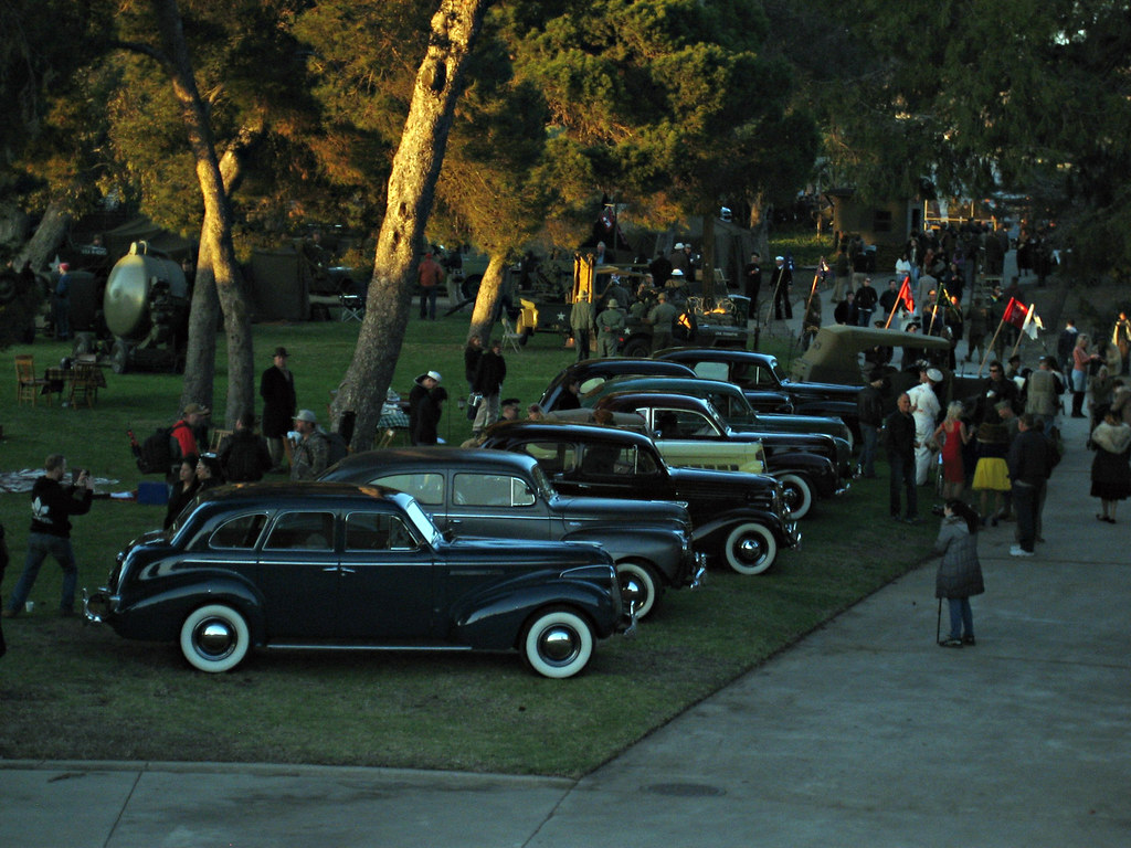 Classic Cars At The Great Los Angeles Air Raid | emd | Flickr