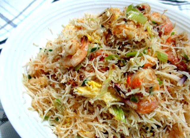 My fried belacan bihun 2