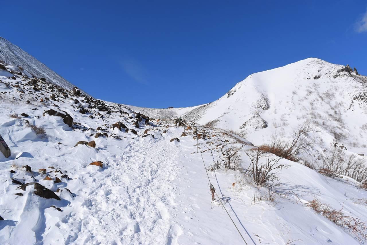 冬の那須岳 日帰り雪山登山