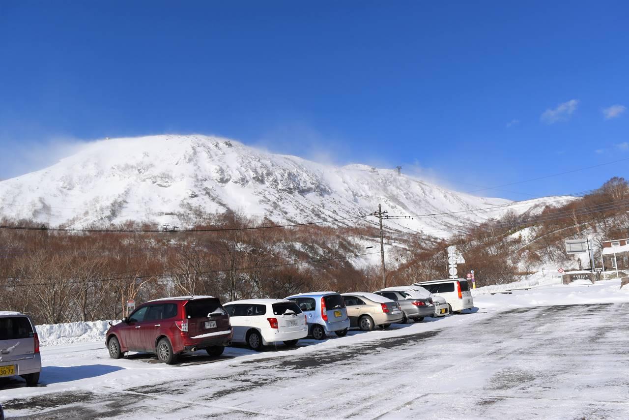 大丸温泉駐車場からの那須岳