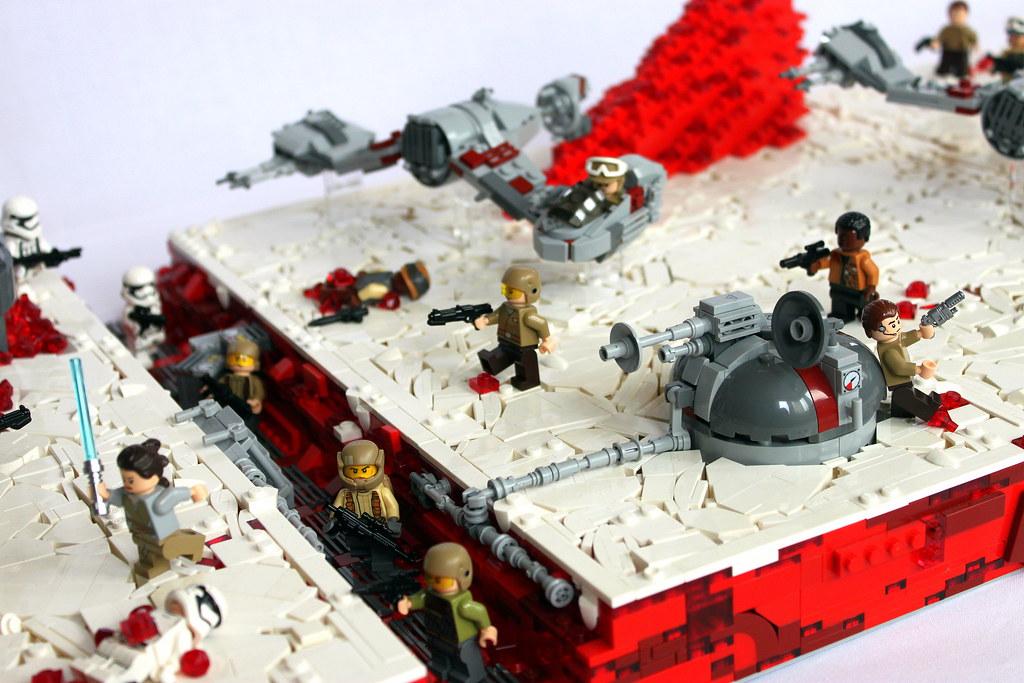 Lego star wars battlefront 2 battle of crait from the las flickr - Croiseur interstellaire star wars lego ...