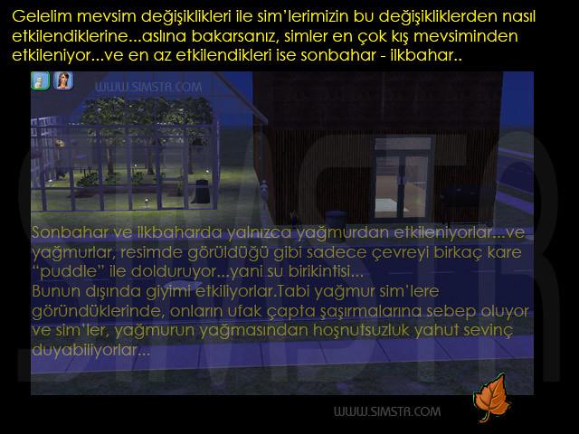 The Sims 2 Seasons Fall Autumn Sonbahar