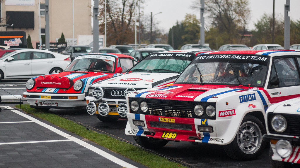 Rally Style   Old rally cars at Porsche dealer   MKSpots   Flickr