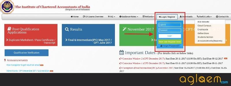 CA IPCC Result Nov 2017 Announced (icaiexam.icai.org)   Check Here