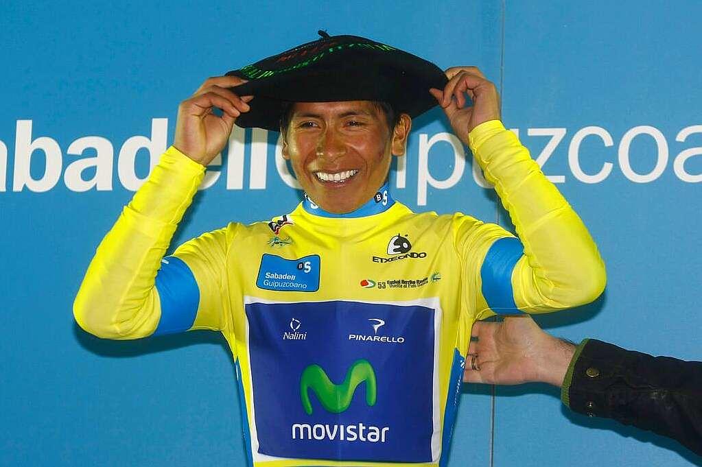 Nairo Quintana, campeón Vuelta al País Vasco