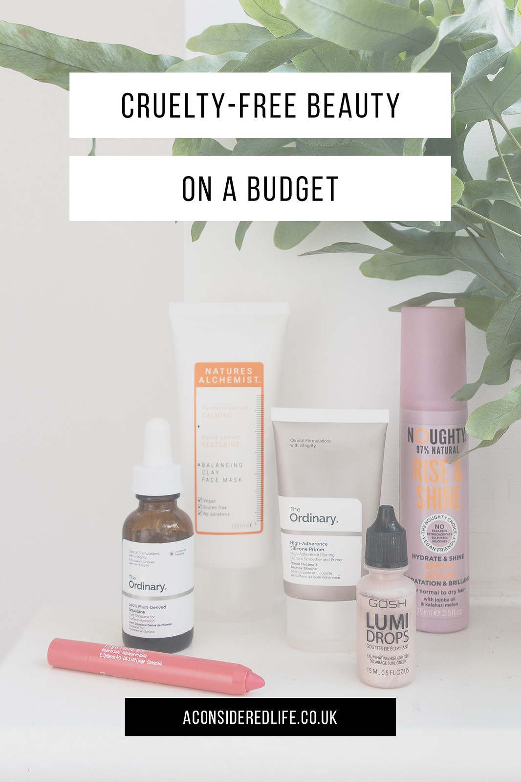 Cruelty Free Beauty on a Budget